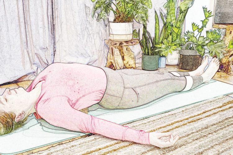 Iyengar online yoga class